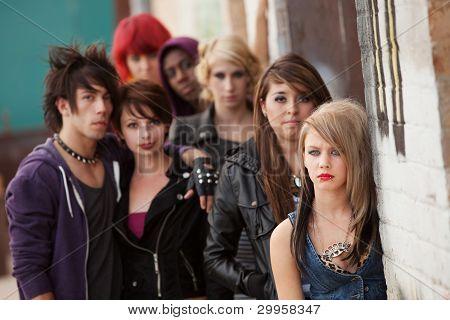 Serious Teen Punk Gang