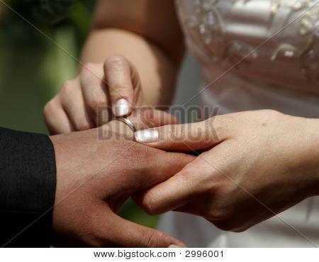 Exchanging Wedding Ring