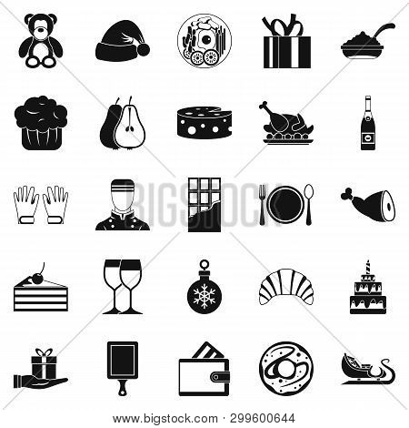 Generosity Icons Set. Simple Set Of 25 Generosity Icons For Web Isolated On White Background
