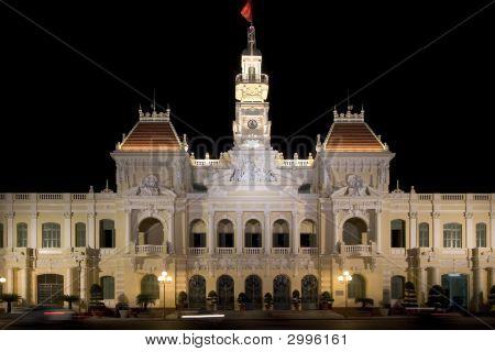 Townhall Ho-Chi-Minh-City, Vietnam