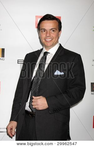 LOS ANGELES, CA - FEB 13: Elio Leoni-Sceti , CEO of EMI at the EMI GRAMMY After-Party at Milk Studios on February 13, 2011 in Los Angeles, California
