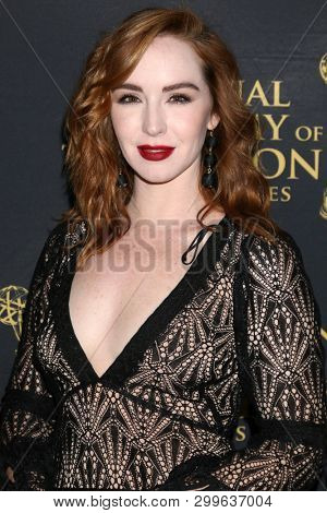 LOS ANGELES - MAY 1:  Cameryn Grimes at the 2019 Daytime Emmy Nominees Reception at the Castle Green on May 1, 2019 in Pasadena, CA