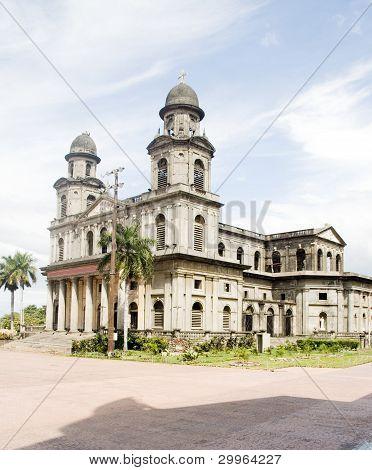 Cathedral Of Santiago Managua Nicaragua