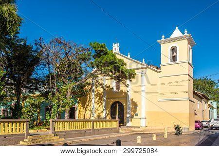 View At The Church Of San Francisco In Tegucigalpa, Honduras