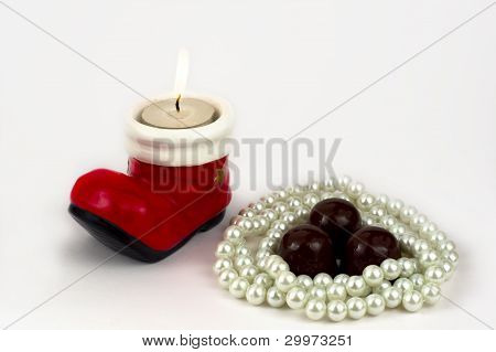 The Candle, Beads And Candy.