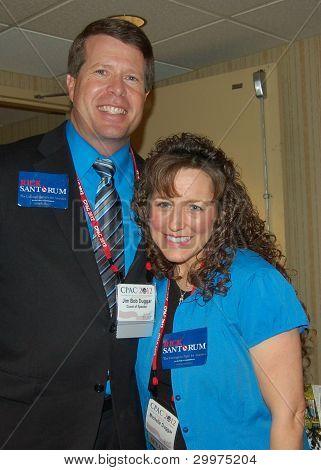 WASHINGTON, DC FEBRUARY 2012 JIM AND MICHELLE DUGGAR