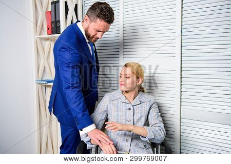 Office Woman And Her Lustful Boss. Lustful Boss Touching. Boss Or Manager Molesting Female Employee