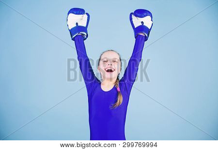 Risk Of Injury. Female Boxer Change Attitudes Within Sport. Rise Of Women Boxers. Girl Cute Boxer On