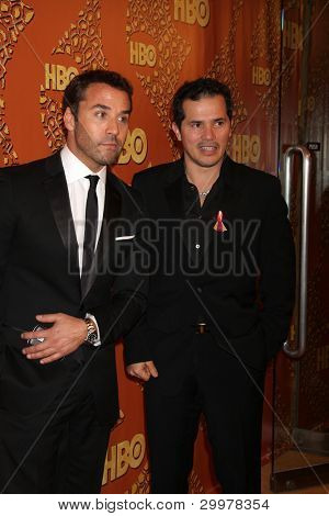 LOS ANGELES, CA - JAN 17: Jeremy Piven & John Leguizamo at the 67th Annual Golden Globe Awards HBO After Party at The Beverly Hilton Hotel on January 17, 2010 in Los Angeles, California