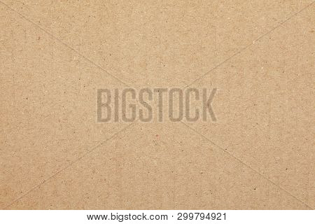 Cardboard Sheet Abstract Background, Texture Of Brown Paper Box For Design Art Work, Old Vintage Pap