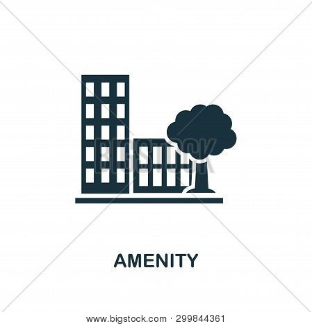 Amenity Icon. Premium Style Design From Urbanism Icon Collection. Ui And Ux. Pixel Perfect Amenity I