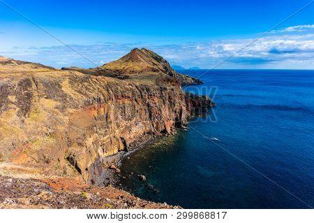 Cliffs Of Ponta De Sao Lourenco, Madeira Islands