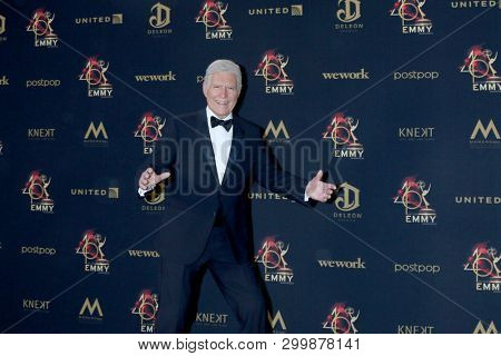 LOS ANGELES - MAY 5:  Alex Trebek at the 2019  Daytime Emmy Awards at Pasadena Convention Center on May 5, 2019 in Pasadena, CA