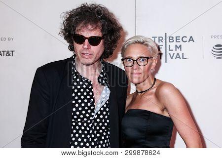 NEW YORK, NY - MAY 03. 2019: John W. Walterr and Vanessa Gould attends at