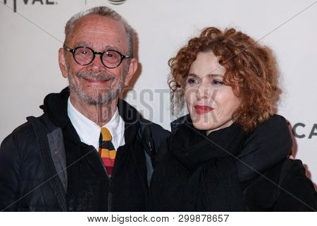 NEW YORK, NY - MAY 03. 2019: Joel Grey and Bernadette Peters  attends at