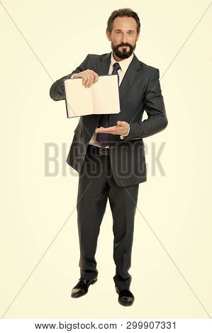 To Do List. Businessman Planning Business Schedule With Notepad. Time Management And Organizing Skil