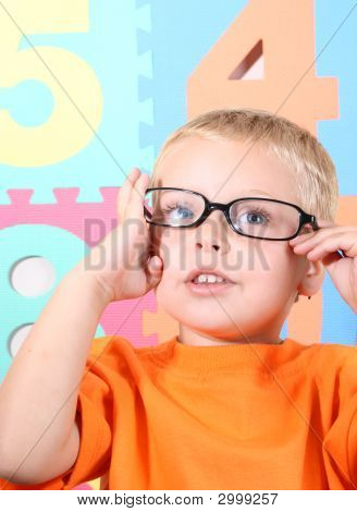 Toddler With Glasses