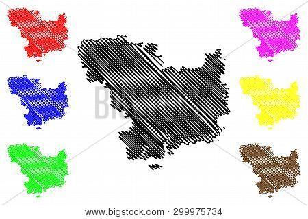 Mykolaiv Oblast (administrative Divisions Of Ukraine, Oblasts Of Ukraine) Map Vector Illustration, S