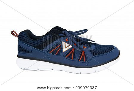 Sports Shoe Isolated On The White Background