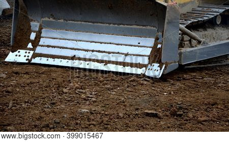 Stabilization Of Soils Unsuitable Soils In Construction Are Stabilized By Mixing A Bulldozer By Addi