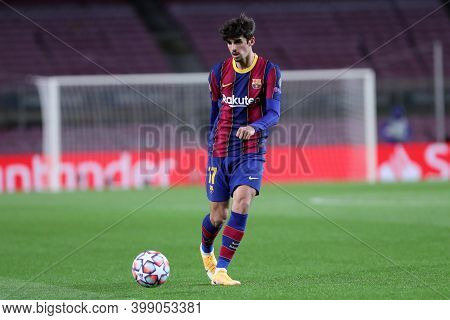 Barcelona (spain). 08th December 2020. Francisco Trincao Of Fc Barcelona   During The Uefa Champions