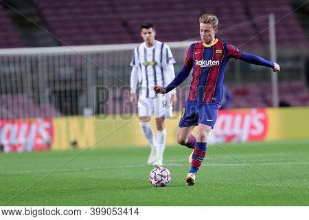 Barcelona (spain). 08th December 2020. Frenkie De Jong Of Fc Barcelona   During The Uefa Champions L