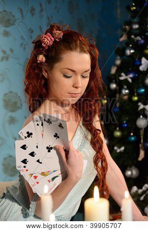 cartomancy on Christmas Eve