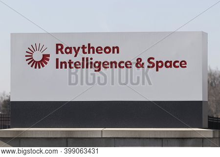 Indianapolis - Circa December 2020: Raytheon Intelligence And Space Division. Raytheon Technologies