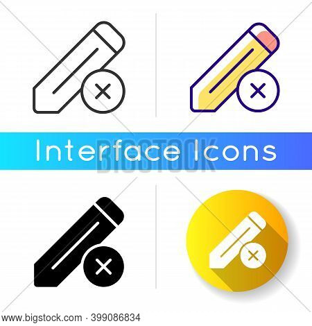 Edit Icon. Editing Process Of Huge Text Document. Reducing Mistakes Made By Writer. Checking Informa