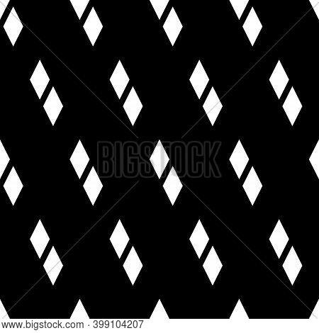 Seamless Pattern. Diamonds Wallpaper. Lozenges Ornament. Rhombuses Backdrop. Ethnic Motif. Geometric