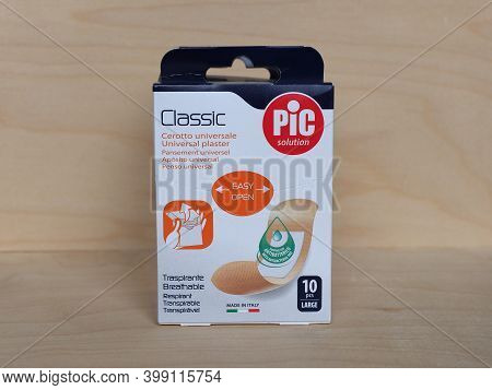Packet Of Pic Solution Band Aids