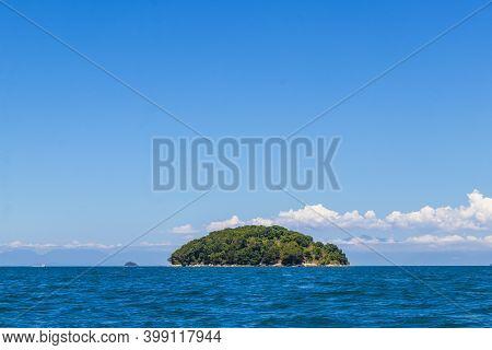 Panorama Of Tropical Islands Ilha Grande Angra Dos Reis Brazil.