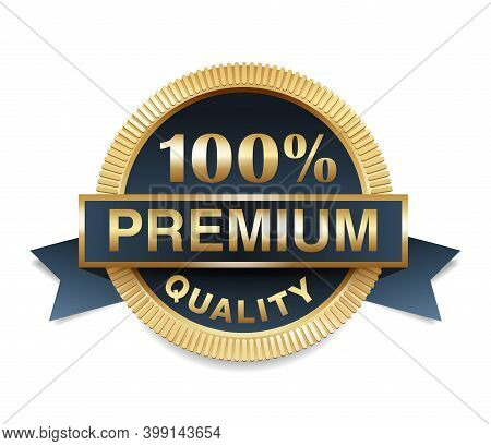 100 Percent Premium Quality Golden Medal Or Realistic Sticker - For Best Selling Or Warranty Certifi
