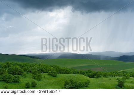 Rain Falling On The Plain.rain Falling On The Plain