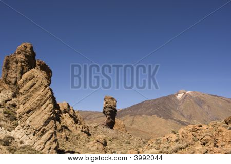 Barren Mountain Landscape