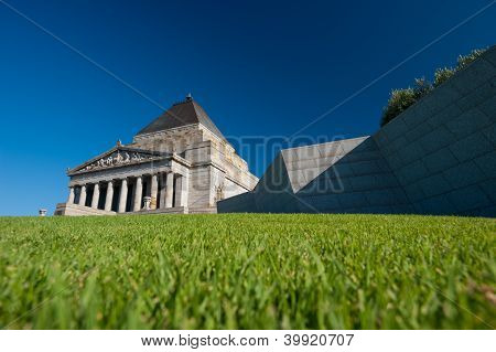 The Shrine Of Remembrance - Melbourne, Australia