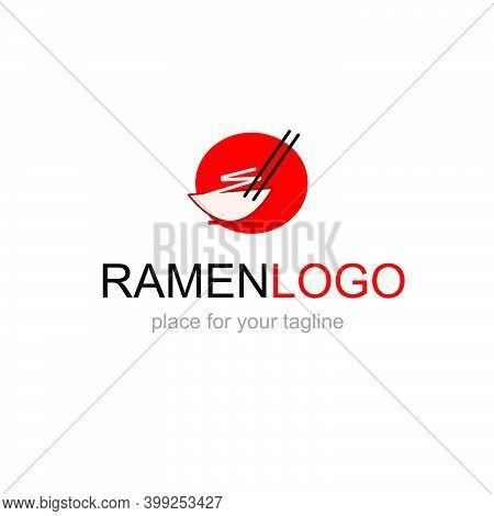 Logo For Ramen Food Restaurant Vector Icon Design