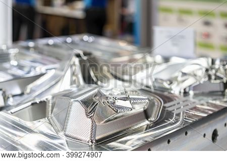 Work Surface Of Automobile Injection Metal Mold Production From Manufacture By High Precision And Qu