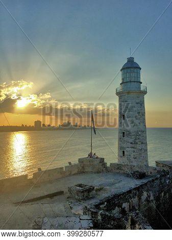 Castillo Der Morro In Havana In Cuba 17.12.2016