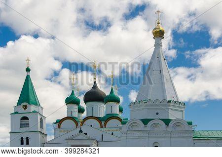 Ascension Pechersky Monastery In Nizhny Novgorod
