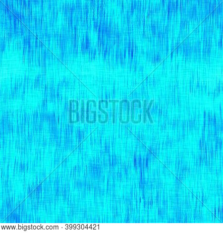Blurry Watercolor Washed Out Woven Linen Texture Background. Grunge Distressed Tie Dye Melange Seaml