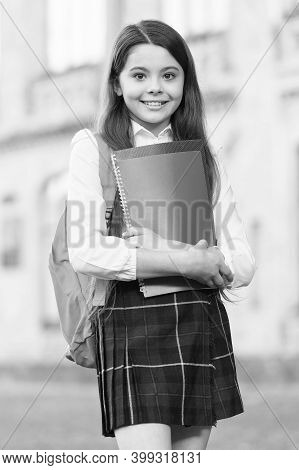 Handbooks On Academic Literature. Happy Kid Hold Literature Books. Studying Literature At School. Li