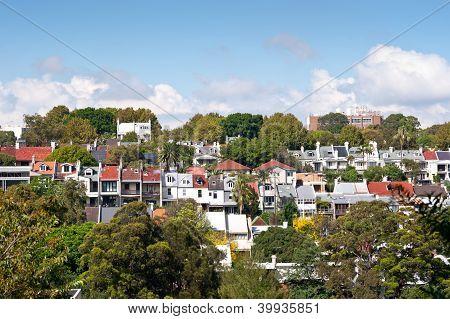 Terrace Homes Near Edgecliff, Sydney, Australia