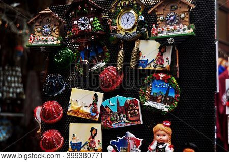 Souvenirs For French People And Travelers Foreign Buy From Souvenir Gift Shop In Place Kleber Square