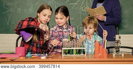 Teaching Kids Sharing Important Knowledge. With Experience Comes Knowledge. Formal Education. Chemis
