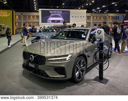 Bangkok Thailand 12 Dec 2020: Volvo Car Show In The Motor Expo 2020 Exhibitions In Bangkok, Thailand