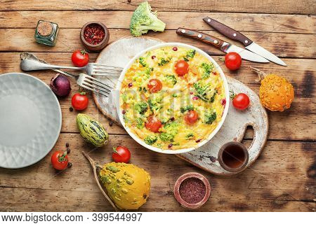 Tasty Vegetable Casserole