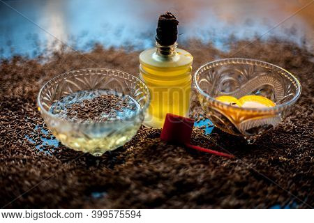Hair Mask For Healthy Long Hair Consisting Of Cumin Seeds Or Zeera Or Jeera Along With Some Raw Egg