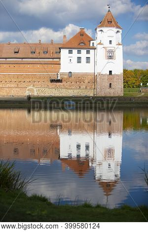 Mir Castle In Minsk Region - Historical Heritage Of Belarus. Unesco World Heritage. Traveling On Bel