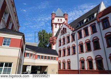 Dortmund City, Germany. Hoerde District Landmark - Hoerde Castle (hoerder Burg).